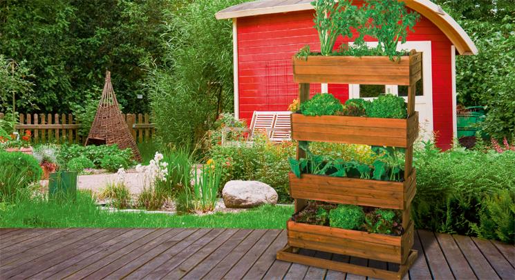 Vertikaler Garten Selber Bauen vertikale hochbeete sind die ideale lösung für den garten