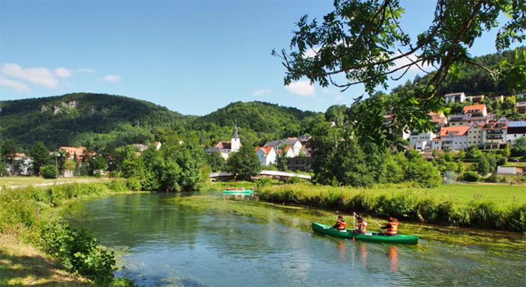 Wiesenttal, Wanderzentrum der Fränkischen Schweiz